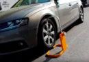 Idei pentru Mureş: Tot mai multe supermarketuri din Sibiu blochează roțile șoferilor indisciplinați