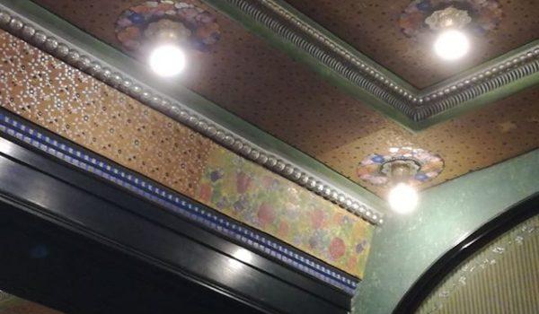 Picturi originale din Sala oglinzilor a Palatului Culturii, descoperite în timpul restaurării
