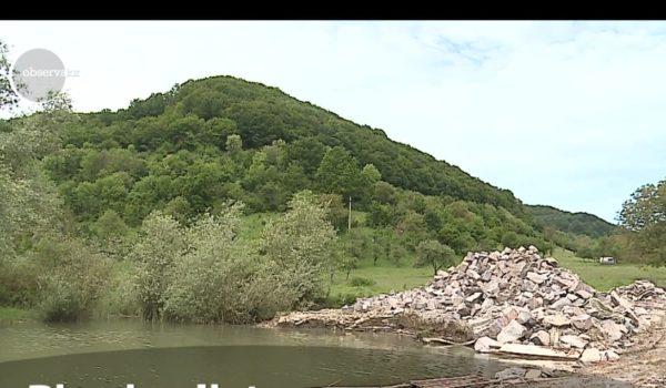 Biserica din Bezid, scufundată în ape, va fi un obiectiv pentru turişti, din această vară (Video)