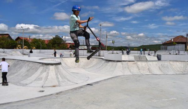 Idei pentru Mures: Cel mai mare skate park din România a fost inaugurat la Sibiu