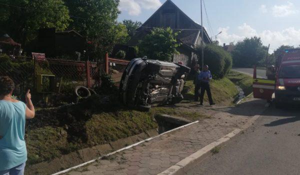 Accident la Sărmașu