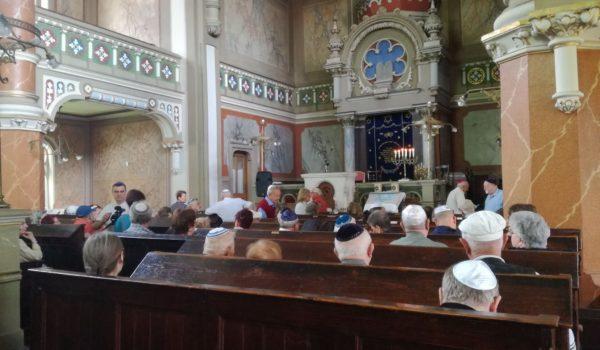 Memoria Holocaustului, la sinagoga din Tîrgu Mureș