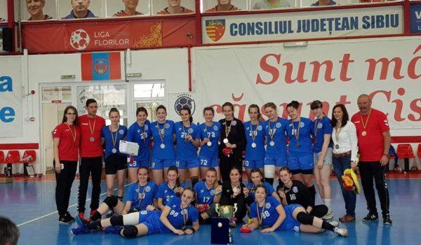 Vicecampioane naționale, fetele de la CSM Tîrgu Mureș handbal Junior II