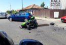 Motociclist accidentat pe str. Gh. Doja