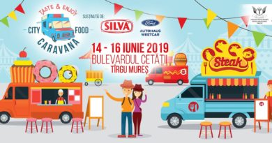 Trei premiere, la Caravana City Food