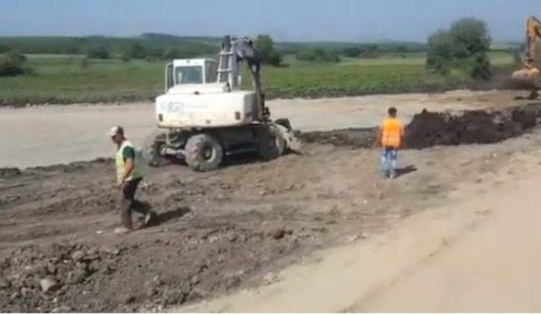 Cum arată Autostrada Transilvania pe șantierul nodului Iernut – VIDEO