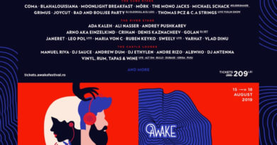 #AWAKE3 comunică noutăți muzicale și un nou preț