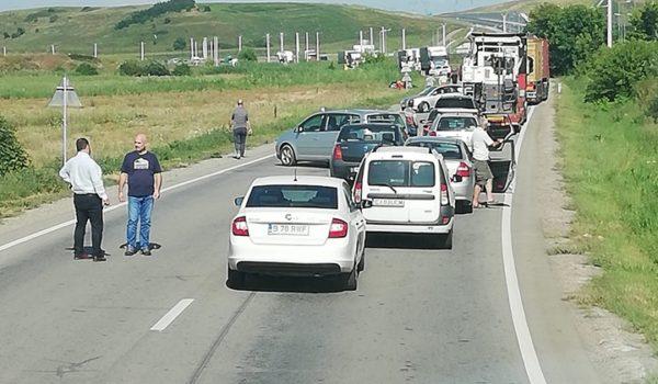 Accident rutier grav între Recea și Sânpaul