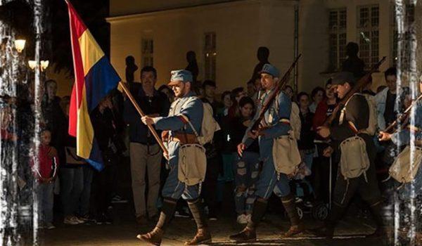 Garda Națională de la Alba Iulia și Personalitățile Unirii la Reghin