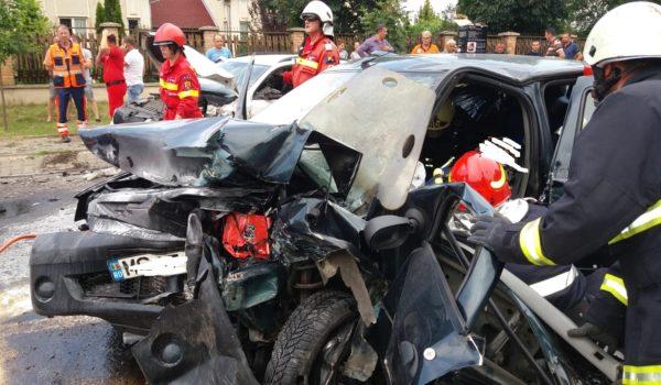 Grav accident rutier pe Calea Sighișoarei!UPDATE