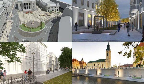 Idei pentru Mureș: Patru proiecte care vor schimba centrul din Oradea