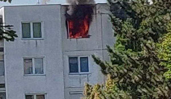 """Incendiu de apartament în """"Tudor"""""""