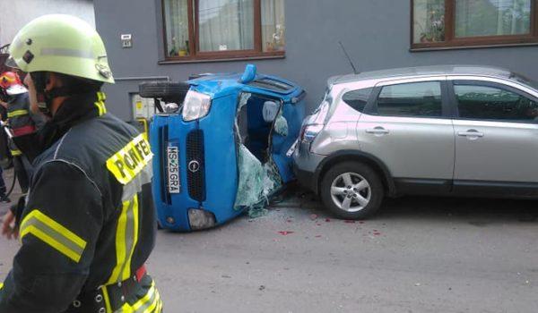 Accident rutier, fără victime