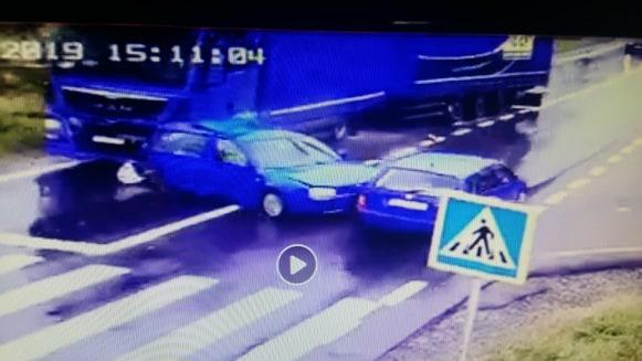 Accident rutier la Albești