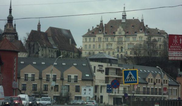Lucrări sistate la Sighișoara