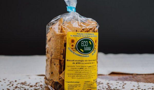 Kolcsar Csaba s-a întors din străinătate şi a investit 100.000 euro într-o fabrică de biscuiţi ecologici la Târgu-Mureş