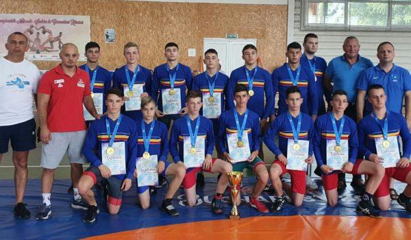Campionatul Național de lupte libere pe echipe cadeți-Liga cadeți