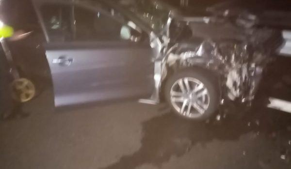 Accident pe autostrada