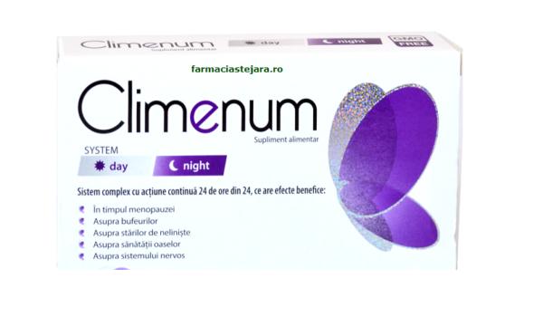 Eliminarea simptomelor menopauzei – Climenum