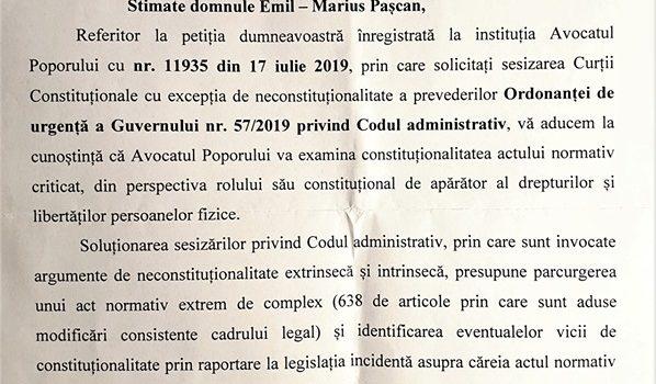 """Marius Pașcan, președinte executiv PMP: """"Umbra lui Ciorbea o bântuie pe Renate Weber"""""""