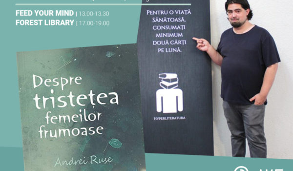 Scriitorul Andrei Ruse vine la AWAKE