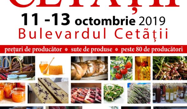 Record de producători și produse în premieră la TÂRGUL CETĂȚII