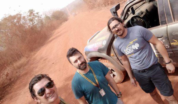 File din jurnalul bravilor mureșeni de la Bamako Rally