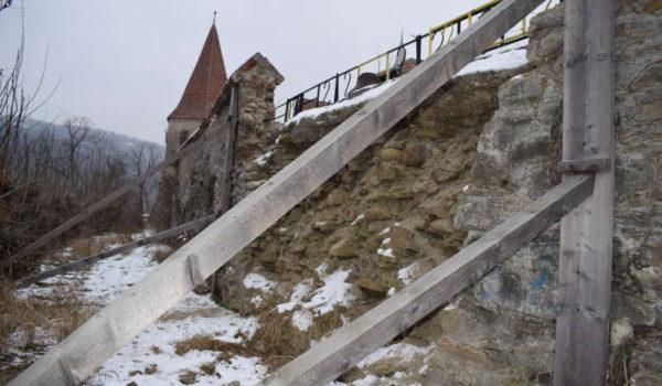 Fortificaţiile Cetăţii Sighişoarei, scanate laser pentru a se evita precedentul de la biserica din Rotbav