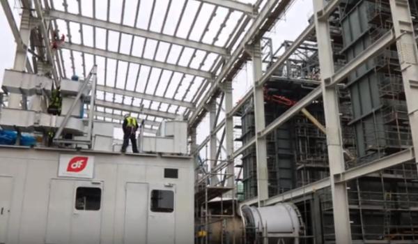 Noua centrală de la Iernut a Romgaz nu va fi gata decât la finalul anului. Guvernul schimbă legea pentru a nu pierde finanțarea UE