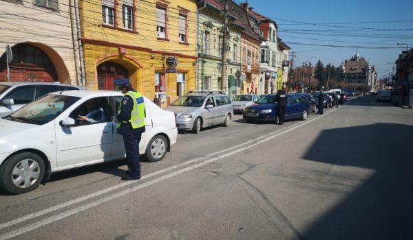 Forțele de ordine în acțiune la Sighișoara și împrejurimi