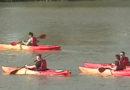 Kaiac-canoe pe râul Mureș